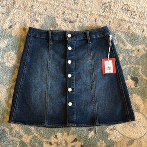 Mossimo stretch denim skirt